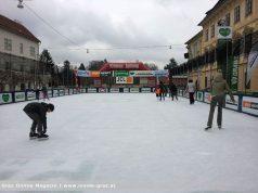 Eislaufen Karmeliterplatz Winterwelt