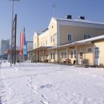 Graz hat den ersten Schnee im Winter 2009/2010