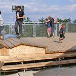 Neue Aussichtsplattform bietet neue Aussichten auf Graz
