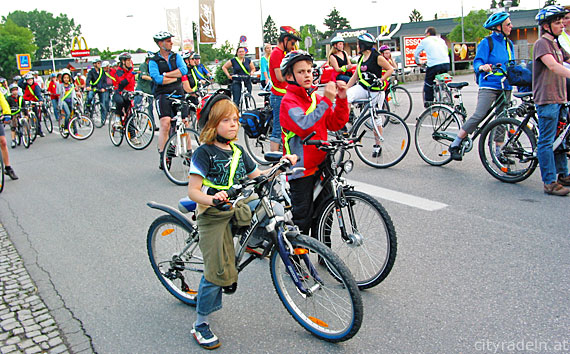 CityRadeln für Jung und Alt