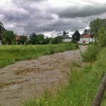 Hochwasser-Situation in Andritz