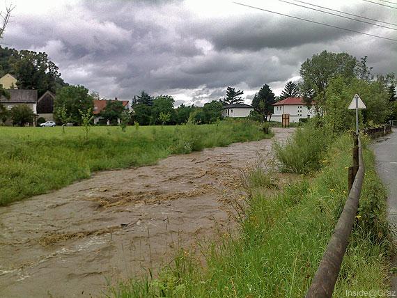 Pegelstand Informationen bei Hochwasser