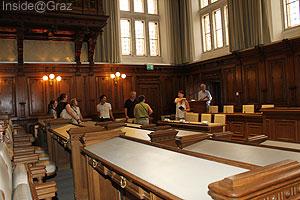 Sitzungssaal im Grazer Rathaus