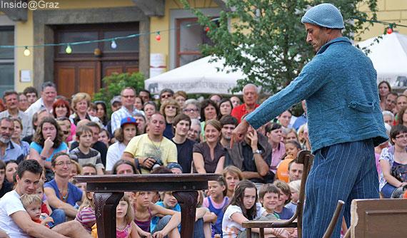Pantomine Leandre bei La Strada