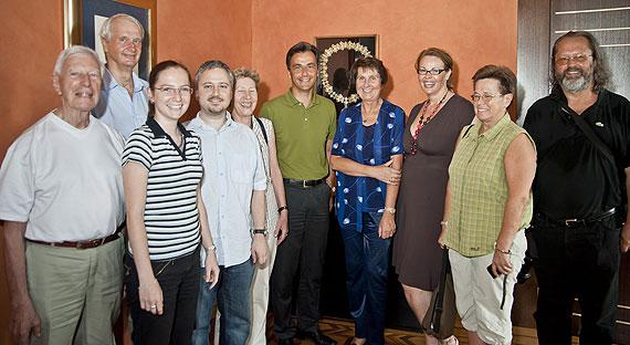 Gruppenfoto mit Bürgermeister Siegfried Nagl