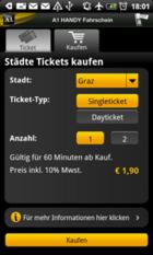 Grazer Linien Online Smartphone Fahrschein App