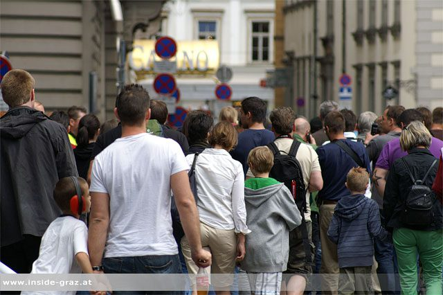Stadtfest Graz Besucher