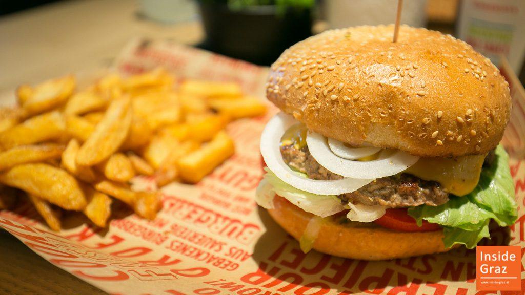 Burgerista Burgerrestaurant Graz