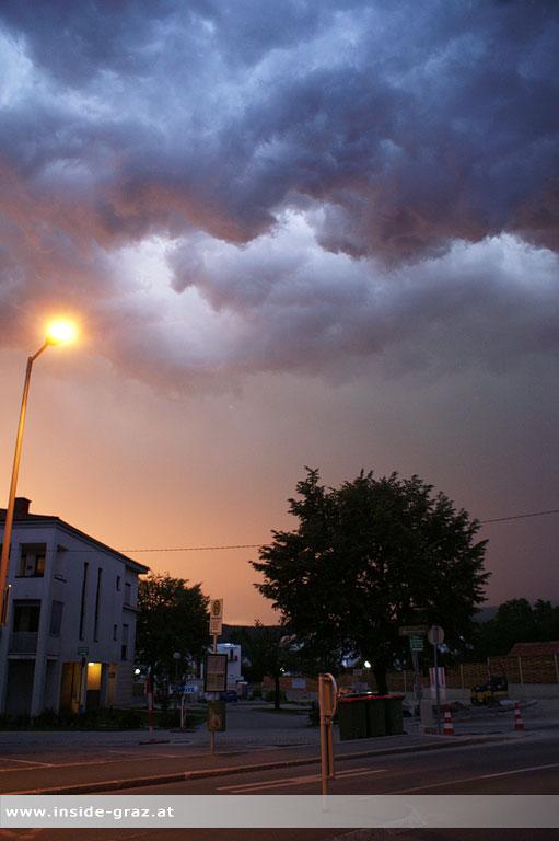 Wolkenstimmung Graz Andritz