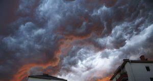 Wolkenstimmung über Graz