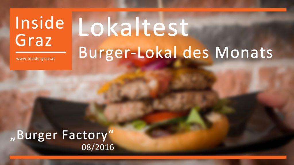Lokaltest Burger Lokal August 2016