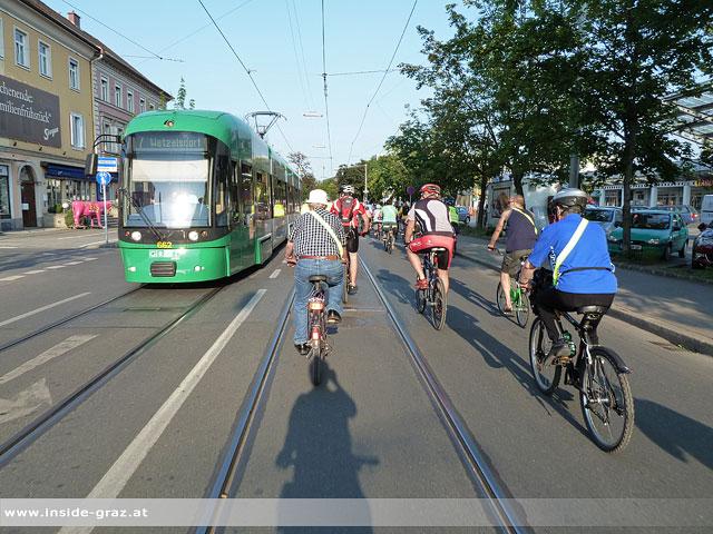 Graz ist Fahrrad-Hauptstadt 2012