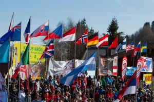 Ski Weltmeisterschaft Schladming Zuschauer