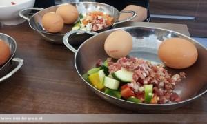 Frühstücken in Andritz