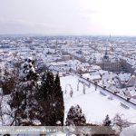 Winterspaziergang auf dem Schloßberg