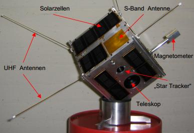 TUGSAT-1: Österreichs erster Satellit startet heute