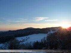 Sonnenuntergang Andritz