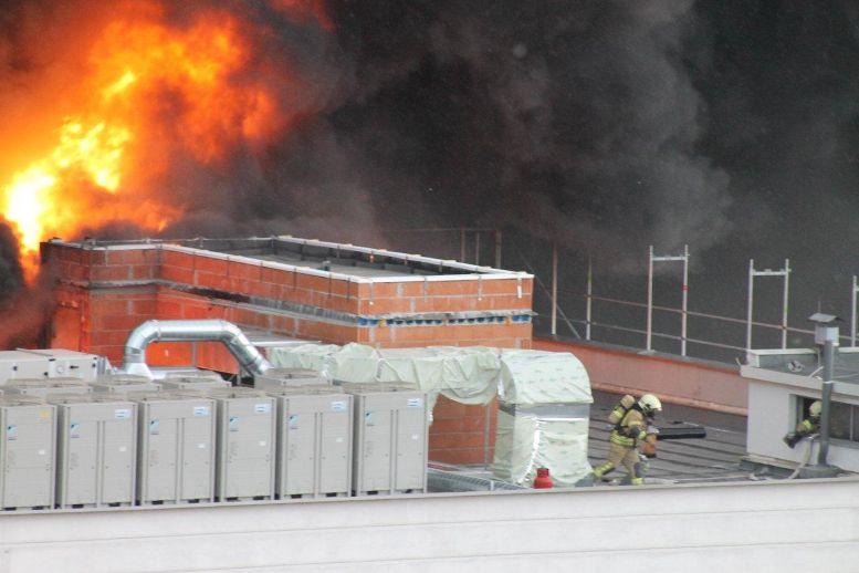 Brand Feuer Leiner