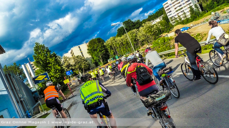 Radfahren Graz St. Leonhard