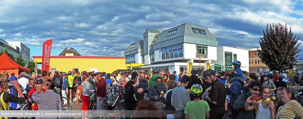 Radfahrer Radlshop Graz