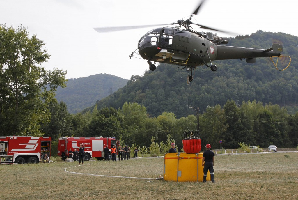 Assistenzeinsatz Aluette 3 Feuerwehr