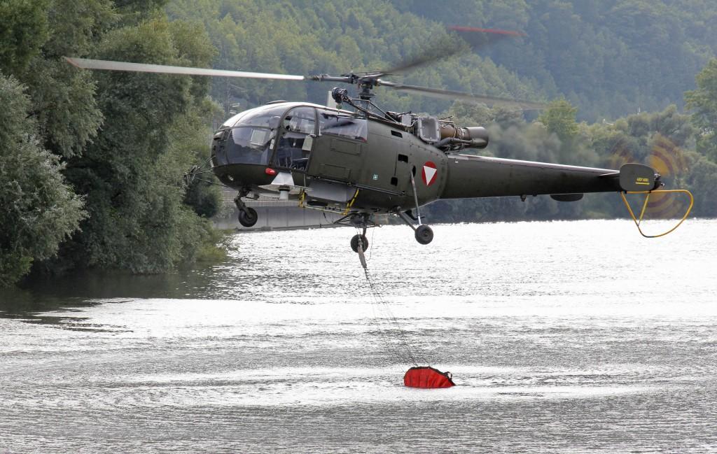 Alouette III Assistenzeinsatz
