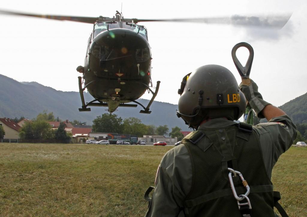 Assistenzeinsatz Agusta Bell 212