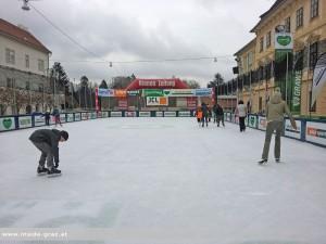 Winterwelt Eislaufen Graz