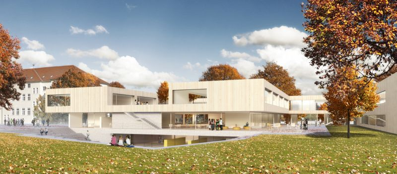 Bildungscampus Algersdorf: Grazer Architekt gewann Wettbewerb