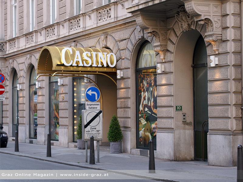 Casino graz dinner im dunkeln