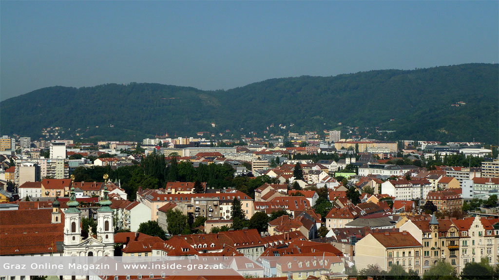 Graz Wohnungen Häuser Stadtgebiet