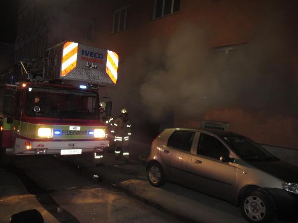 Polizei nimmt Verdächtigen bei Kellerbrände in Graz fest