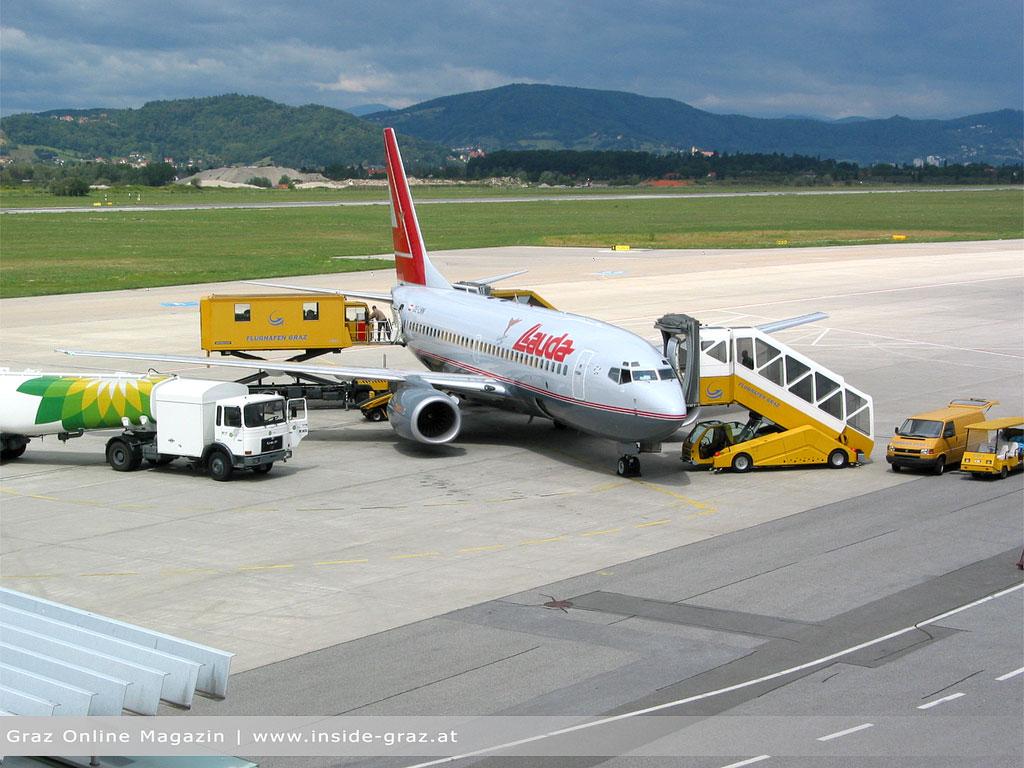 Flughafen Graz: Mehr Fracht, weniger Passagiere im letzten Jahr