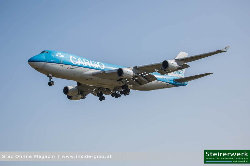 KLM 474 Flugzeug
