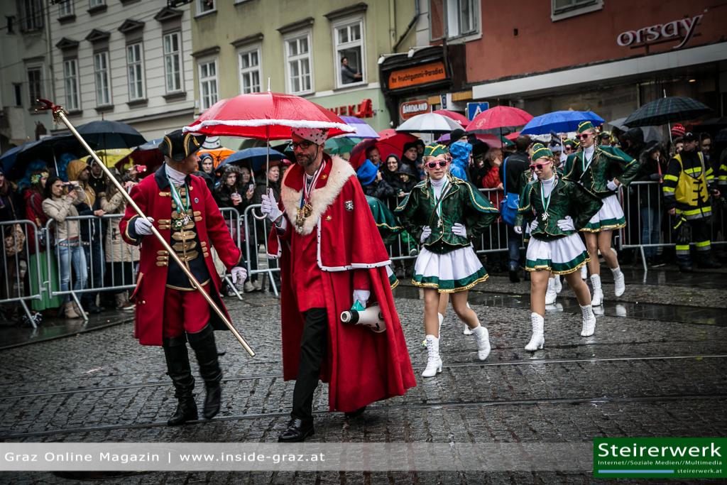Faschingsgilde Faschingsumzug Graz