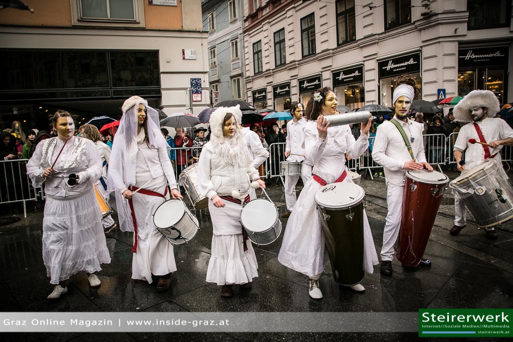 Trommler Faschingsumzug Graz