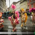 Grazer Faschingsumzug 2014: Närrisches Treiben im Regen