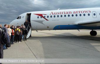 Urlaub fliegen Graz