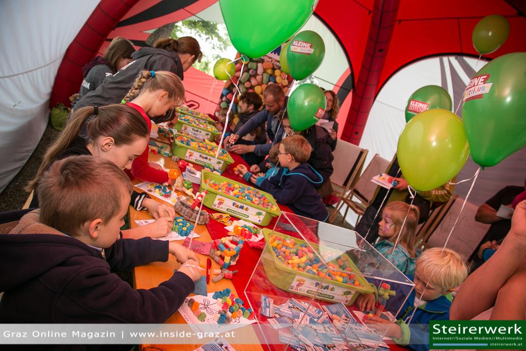 Kinder Playmais Schloßbergfest