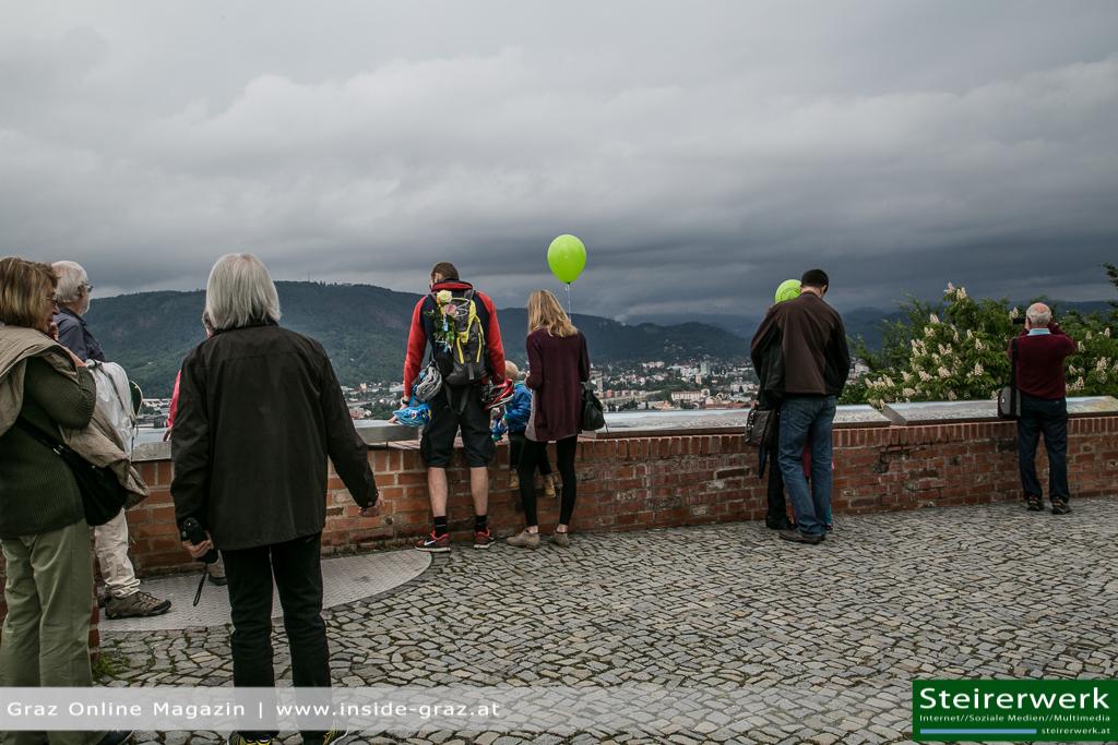 Wetter Regen Schloßbergfest 2014