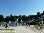 Hitze Sommer Schwimmbad