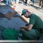 Annenstraße 3D Straßenmalerei – Asphalt Oasen Kunst