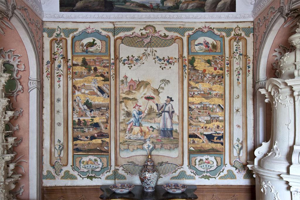 Japanisches Kabinett Schloss Eggenberg