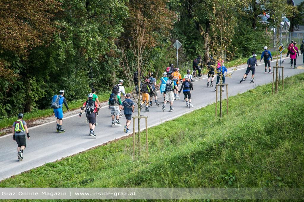 Inline Skater Tour de Graz