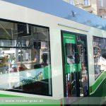 Sattelanhänger kollidierte mit Straßenbahn