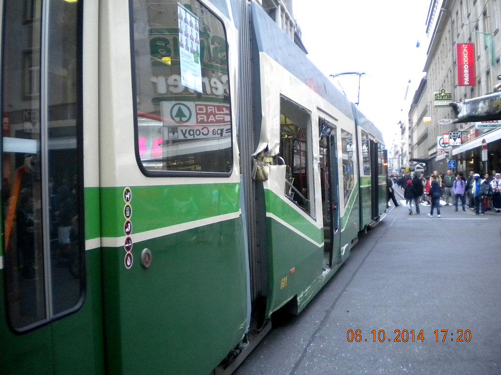 Straßenbahn Unfall Graz