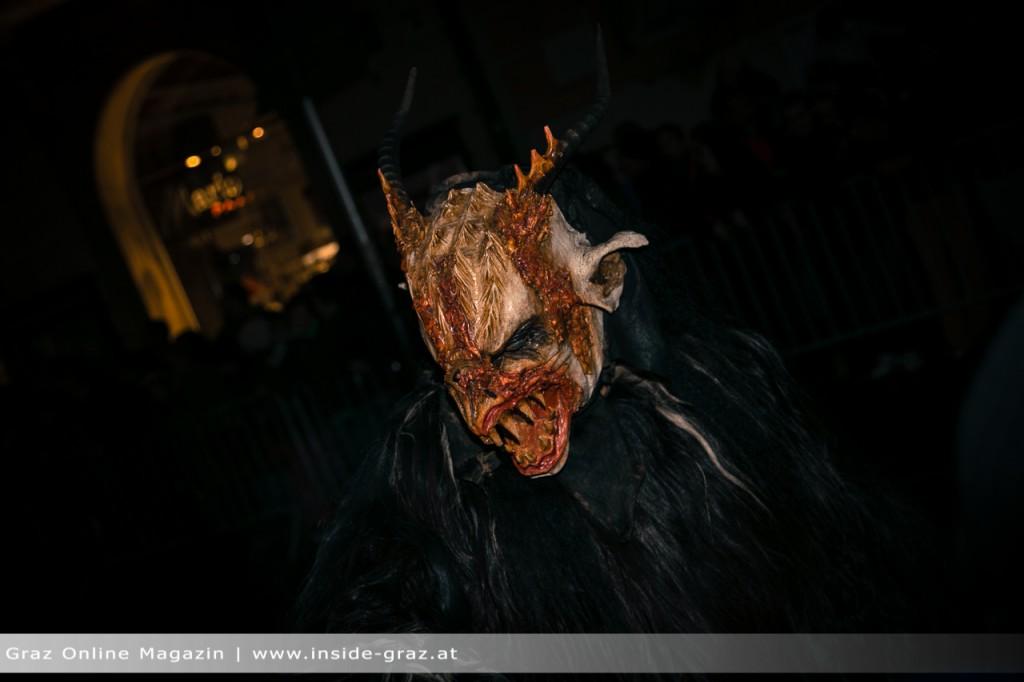 Maske Krampus Graz