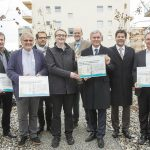 Wohnprojekt Reininghaus-Süd von Minister Stöger ausgezeichnet