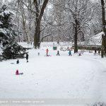 Schneefotos von Graz: Der Winter hat Einzug gehalten