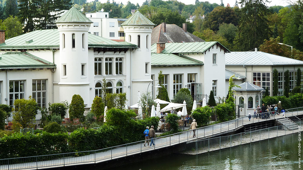 Cafe Purberg im Hilmteichschlössl am Hilmteich